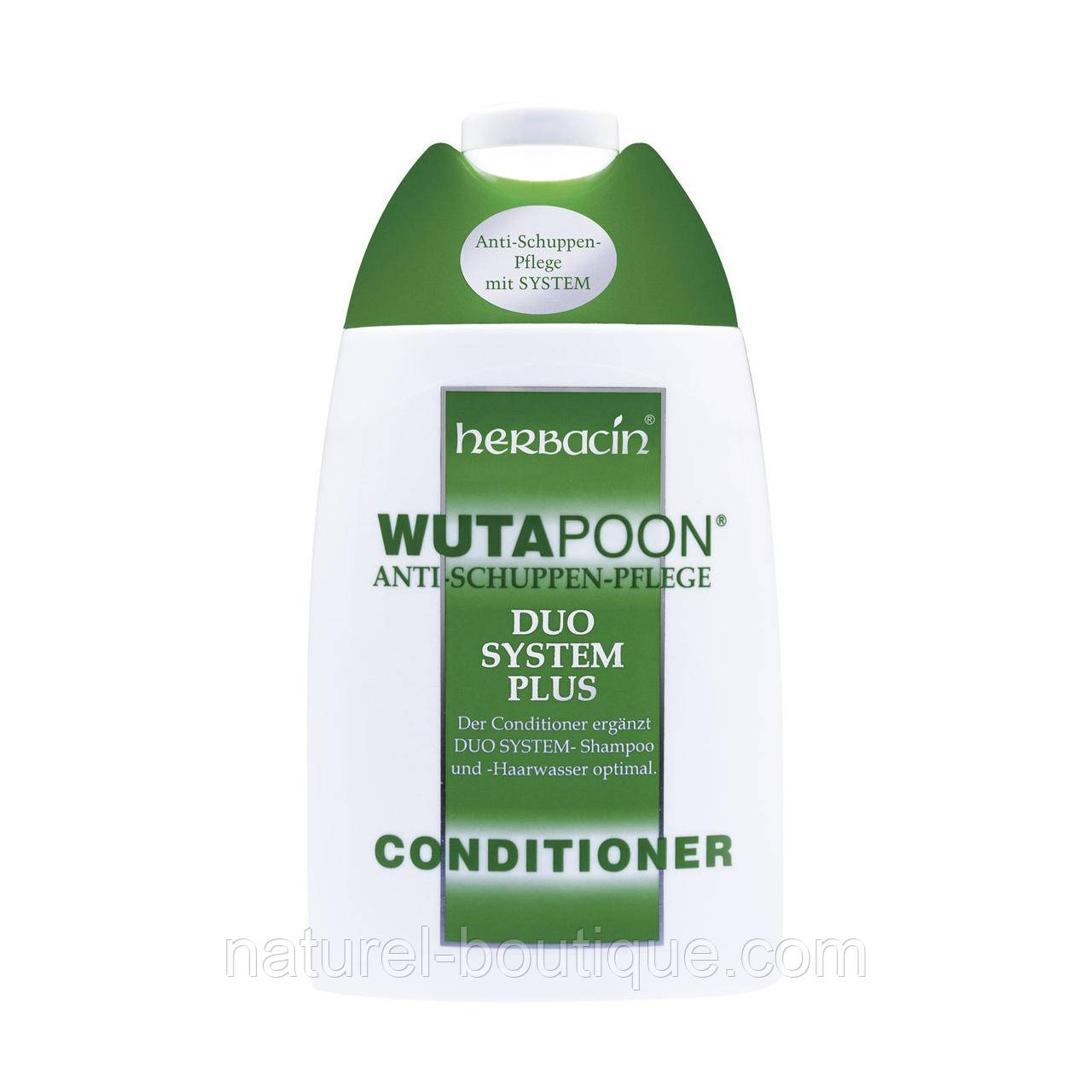 Кондиционер для волос Herbacin WUTAPOON Dandruff Treatment