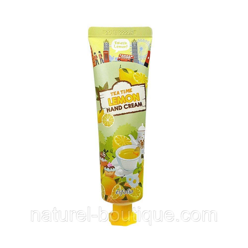 Крем для рук Esfolio лимонный чай