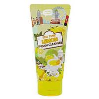 Пена для лица Esfolio Tea Time Lemon Foam Cleanser лимонный  чай