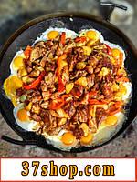 Сковорода для костра из диска бороны, барбекю, гриль, жаровня, садж!
