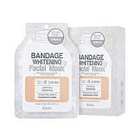 Маска для лица Esfolio Bandage Whitening Facial Mask отбеливающая