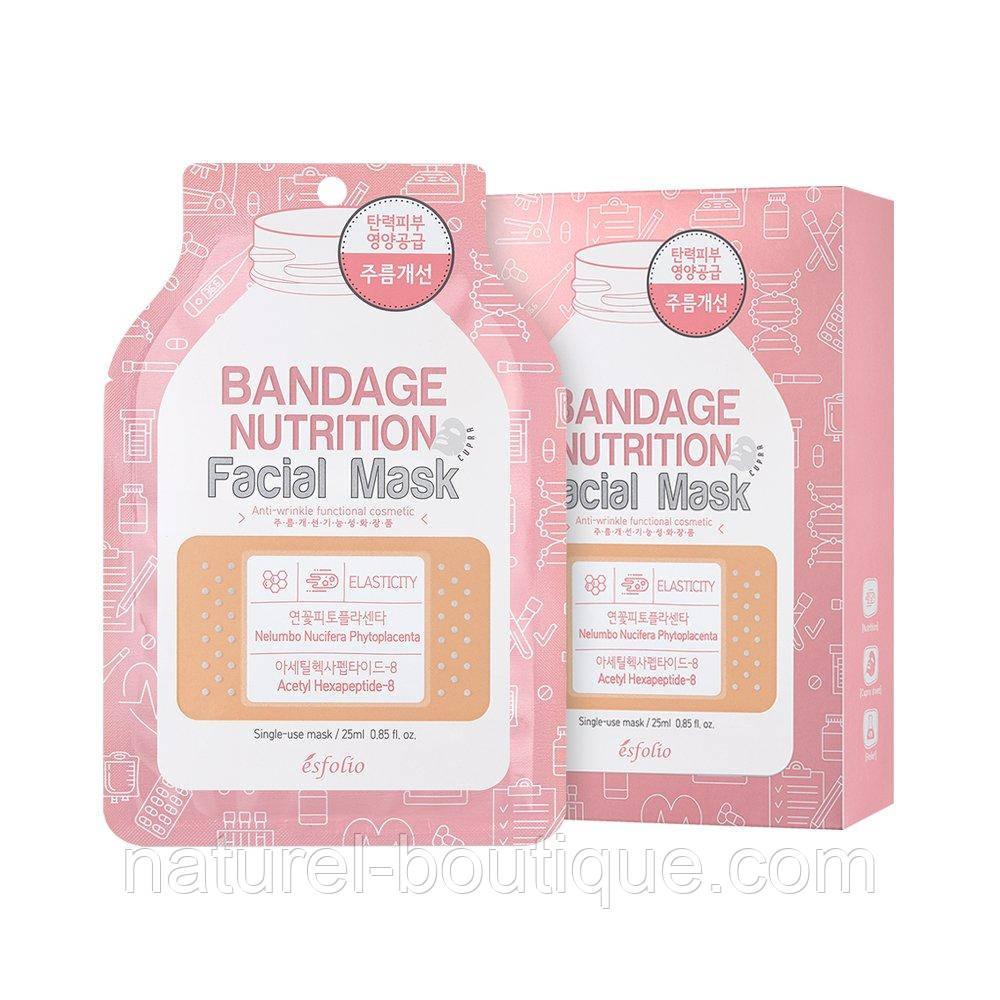 Маска для лица Esfolio Bandage питательная