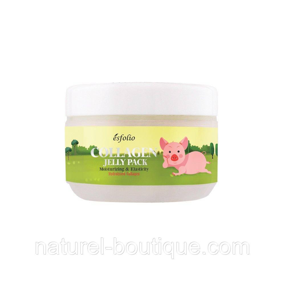Гель-маска для обличчя Esfolio Collagen Shape Memory Jelly Pack c колагеном