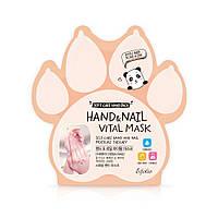 Маска для рук и ногтей Esfolio Hand and Nail Vital Mask  витаминная