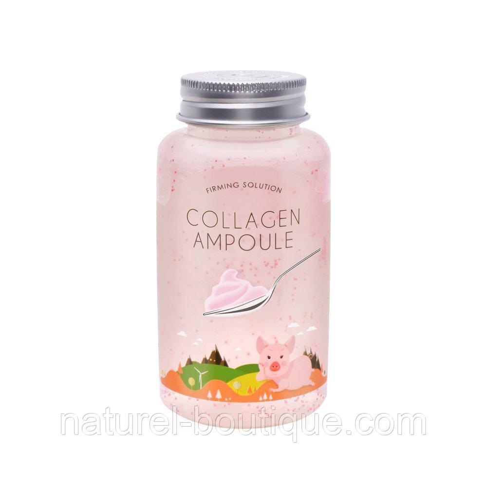 Ампульный гель для лица Esfolio Collagen Ampoule коллагеновый