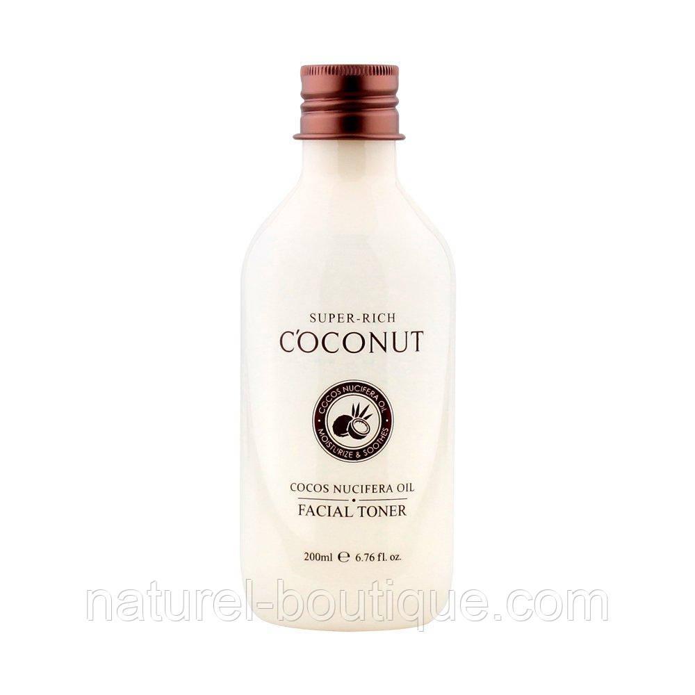 Тонер для лица Esfolio Super-rich c экстрактом кокоса