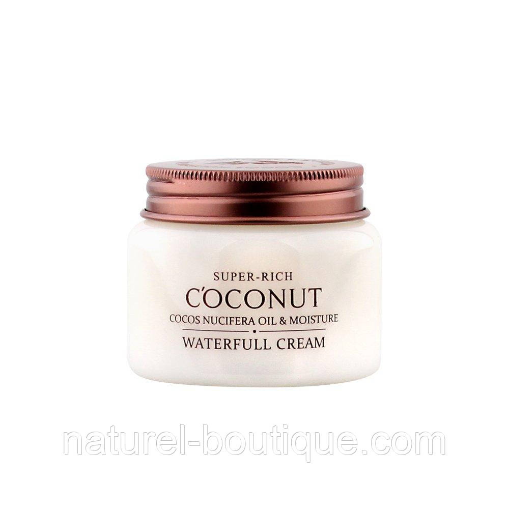 Крем для лица Esfolio Super-Rich Coconut Waterfull Cream на  водной основе с экстрактом кокоса