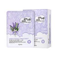 Маска тканевая для лица Esfolio Pure Skin с травами