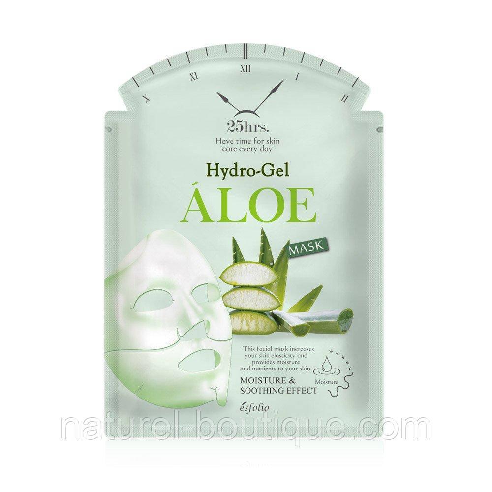 Гидрогелевая маска для лица Esfolio Hydrogel Aloe  Mask с Алоэ Вера