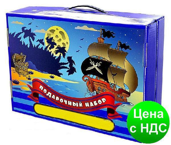 """Подарунок першокласнику """"Пірати"""" 39 предметів"""