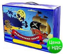 """Подарок первокласснику """"Пираты"""" 39 предметов"""