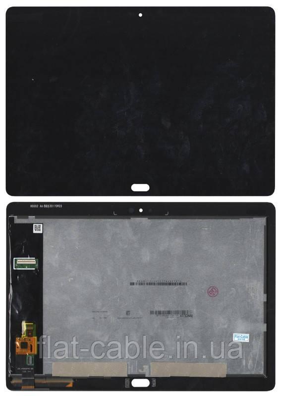 Дисплей для планшета Huawei MediaPad M3 Lite 10 LTE (BAH-L09) Чорний, з сенсорним екраном