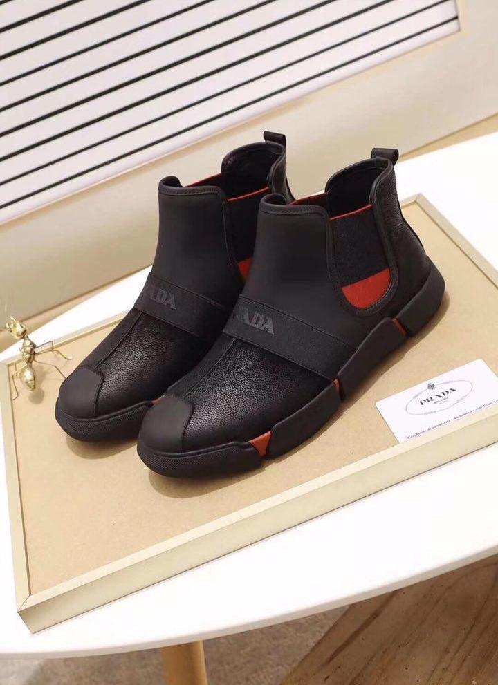 Демисезонная мужская обувь до -5 Зима 2019 Материал Натуральная кожа Размеры 41, 42, 44