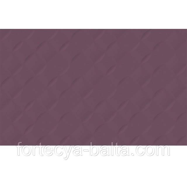 Плитка Golden Tile Гортензия лиловый 25x40 см цена за 1 плитку
