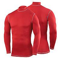 Мужская термокофта Long Sleeve Mock (Red)