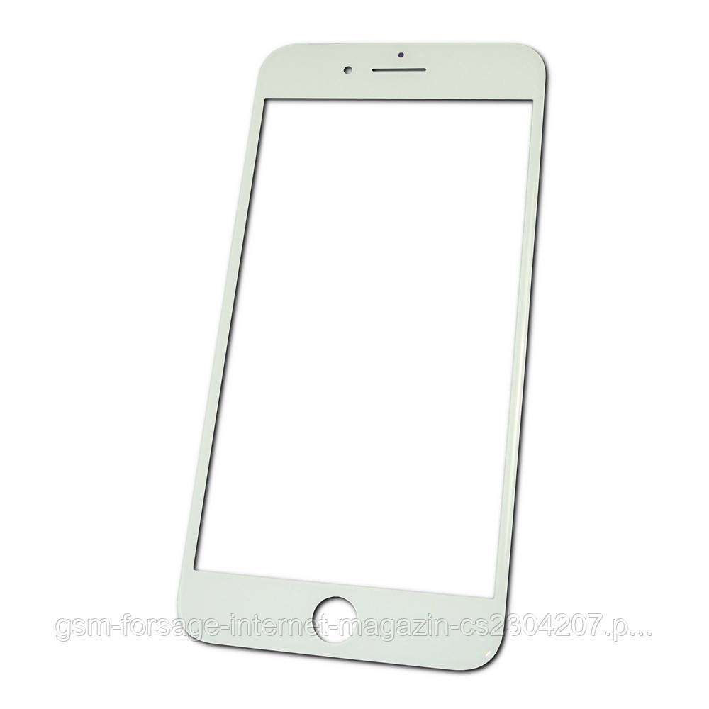 "Стекло дисплея (для переклейки) iPhone 7 (4.7"") White complete with frame"