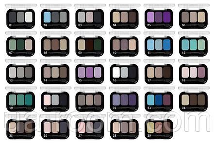 Тени для век трехцветные Parisa, E-403, фото 2