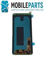 Дисплей для Samsung A6 2018 | A600 с сенсорным стеклом Яркость регулируется (Черный) TFT подсветка оригинал