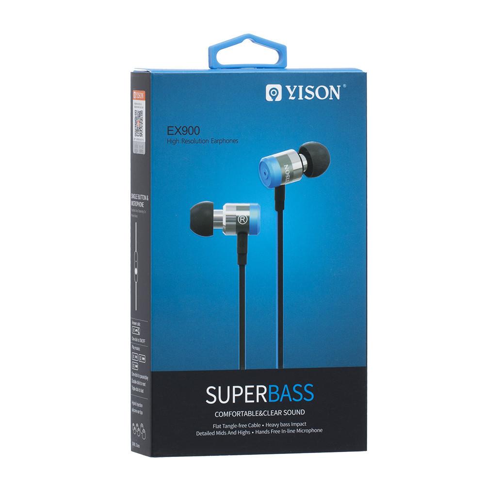 Наушники Yison EX900 Blue