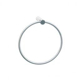 AI0110C Держатель полотенец металлический круглый MEDINOX
