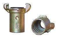 Сцепление крабовое Contracor CQT-1 для шланга диаметром 25x39 мм