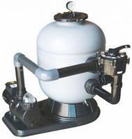 Фильтровальная установка Gemas Ikarus для очистки бассейна  500мм, 10 м3/ч, Боковое
