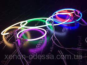 Ангельские глазки CCFL 95 мм Желтые / Angel Eyes CCFL 95 mm YELLOW, фото 3