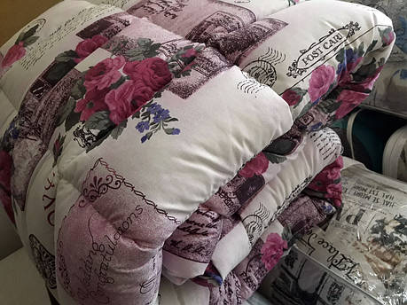 "Силиконовое одеяло ""Roses"" ЕВРО - 200х220, фото 2"