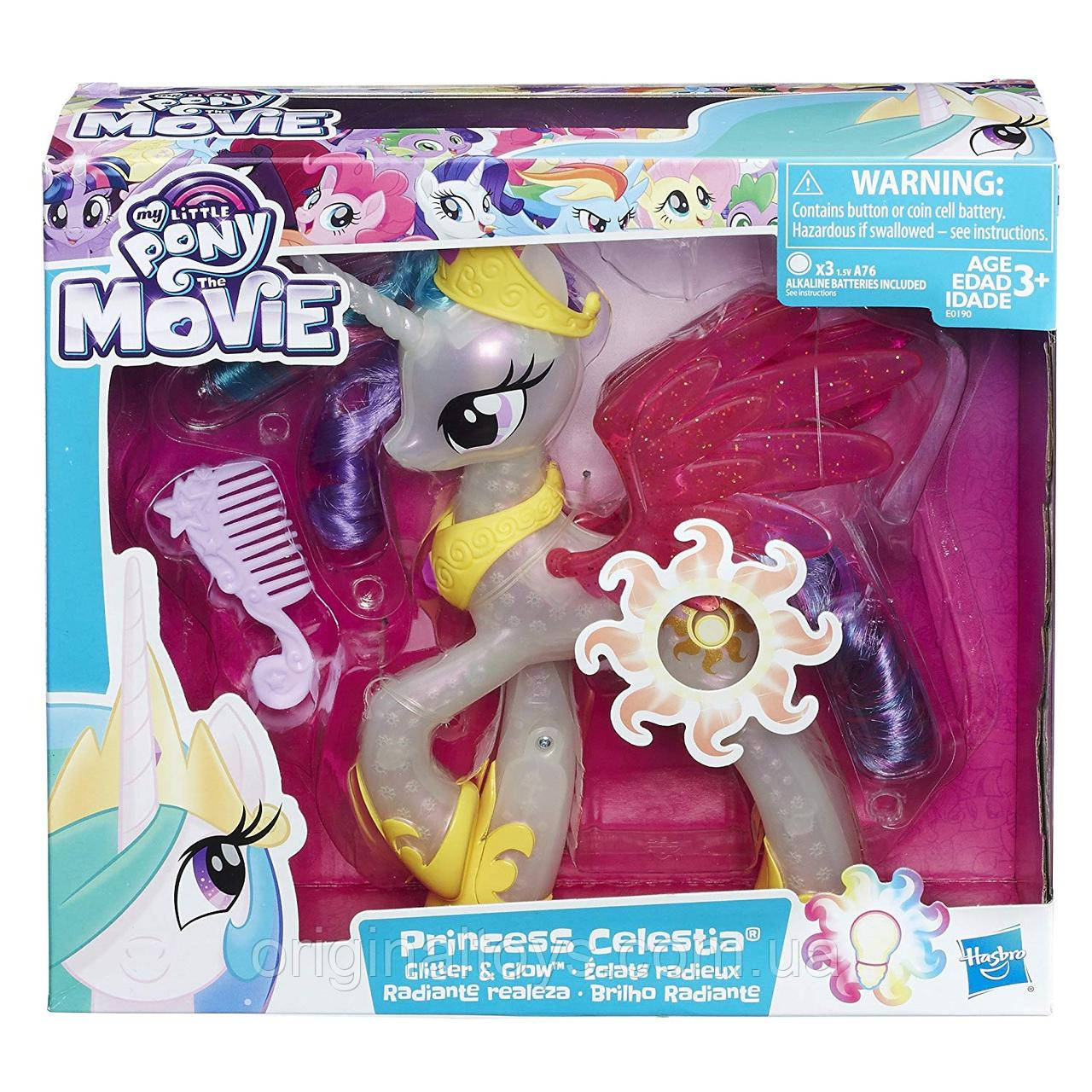 Интерактивная игрушка пони Принцесса Селестия Hasbro My Little Pony the Movie E0190