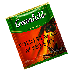 """Чай черный пакетированный  Greenfield """"Christmas Mystery"""" Корица 100шт (полиэтиленовый пакет)"""