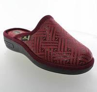 Женская обувь Spesita ‣ комнатные тапочки ‣ закрытый носок ‣ 614 Бордовый 36-41