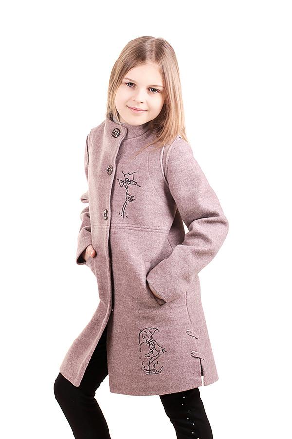 Дитяче пальто для дівчинки Міка