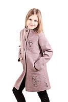 Детское пальто для девочки Мика