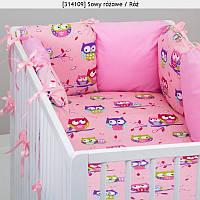 """Постельное бельё в кроватку для девочек  """"Совята"""""""