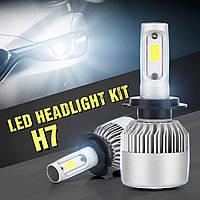 """Светодиодные автомобильные лампы Комплект (2шт) """" LED S2 H7 """" 4Drive, фото 1"""
