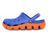 Мужские сабо Crocs Duet Sport Clog Blue Orange