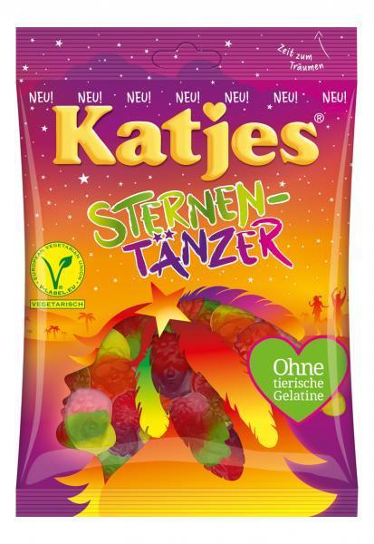 Жевательные конфеты Katjes SternenTanzer