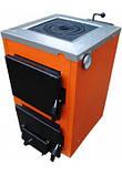 Твердотопливный бытовой одноконтурный котел ТермоБар АКТВ-16 с плитой (1 конф), фото 2