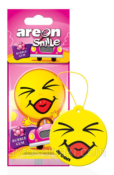 Ароматизатор в авто Жуйка Areon Smile