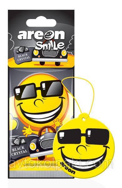 Ароматизатор в авто Блэк Areon Smile