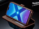 Чохол-книжка гаманець фірма IMEEKE для Huawei Honor 8X / Скло в наявності /, фото 7