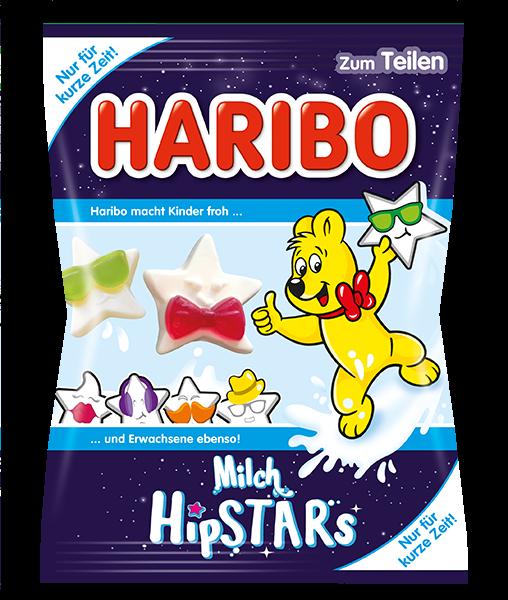 Желейные конфеты Haribo Milch Hipstars