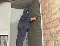 Штукатурка стен высококачественная.
