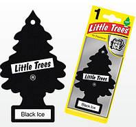 Ароматизатор в авто Черный лед LITTLE TREES