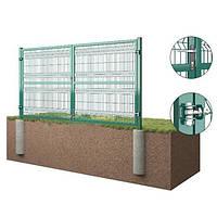 Распашные ворота 3D Забор™ – 2000х5000 мм