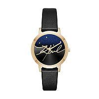 "Женские черные  кварцовые часы ""Camille""  Karl Lagerfeld, фото 1"