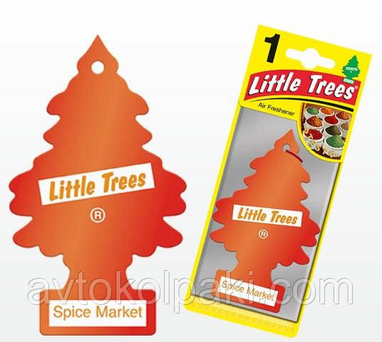 Ароматизатор в авто Рынок специй LITTLE TREES