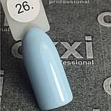 Гель-лак Oxxi professional (10 мл) №026 (нежно-голубой, эмаль), фото 2