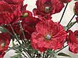 Искусственная ветка мака.Мак декоративный для напольной вазы (110 см), фото 5