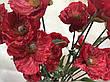 Искусственная ветка мака.Мак декоративный для напольной вазы (110 см), фото 4